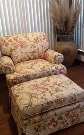 Flexsteel chair/ottoman