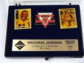 Michael Jordan pin set.