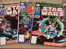 Star Wars comics.