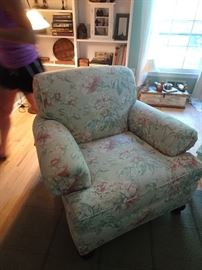 Waverly Custom Upholstered Chairs- one of a pair - 3' X 3.5'