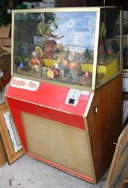 Bimbo Box Mechanical Coin Operated Animation Machine