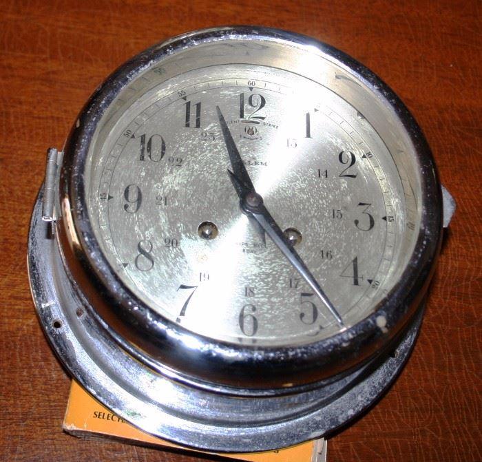 Salem Ships Clock