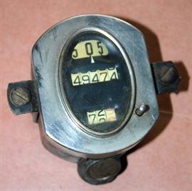 Antique Cars Odometer
