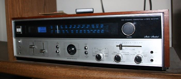 Fisher 304 2 / 4 Channel Convertible Stereo Receiver
