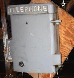 Cast Iron Telephone Box