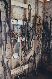Horse Tack, Rope and Pulleys