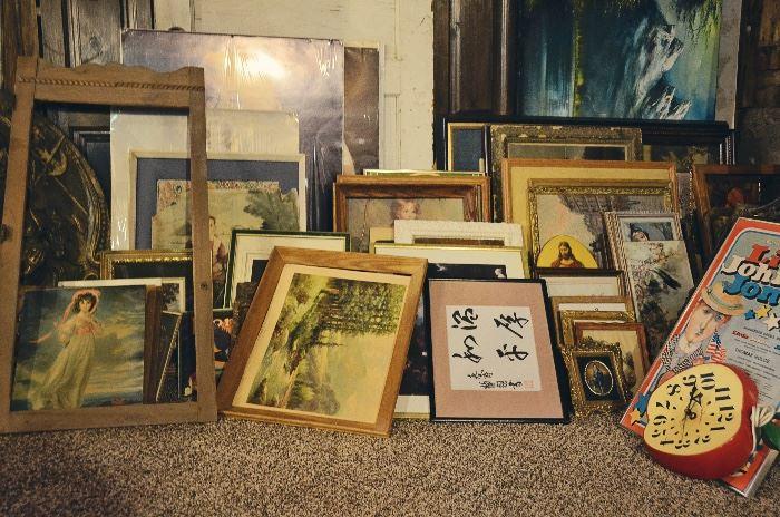 Framed Prints, Clocks