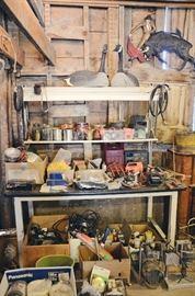 Grow Light Table, Tools, Geese Decoys