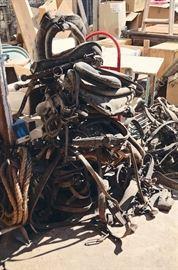 Horse Tack - Blinders, Collars, Reigns, etc.