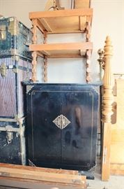 Chinese Style Cabinet, End Tables, Trunks