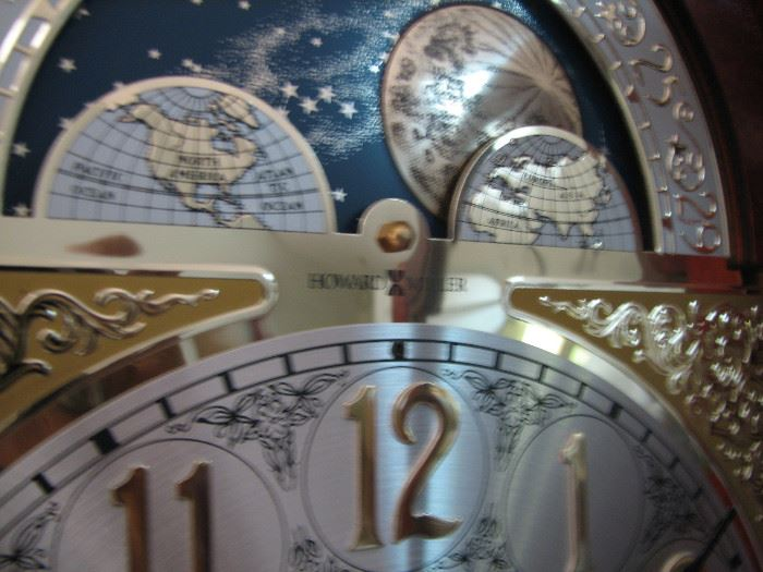 MOON PHASE ON CLOCK