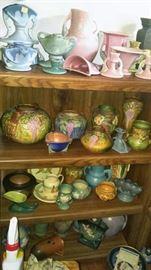 Early Roseville pottery