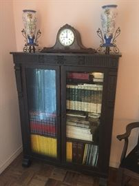 Antique American bookcase, early 1900's