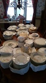 Multiple Haviland Limoges China sets