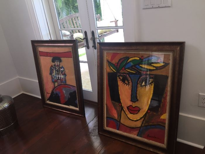"""Sold """"THE MASK"""". The left piece is available."""