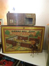 Vintage Fort Apache Play Set