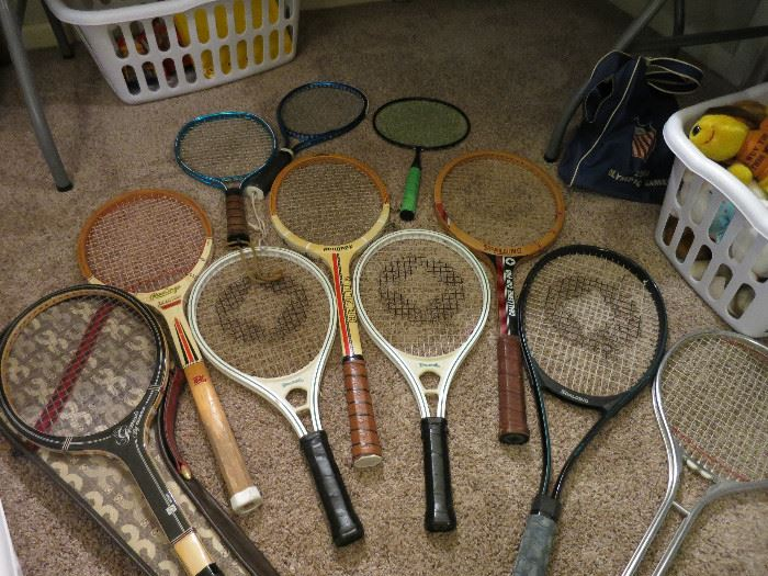 Racquetball and Tennis Rackets