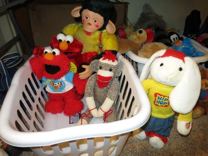 Elmo, Zippy, Hip Hop Bunny