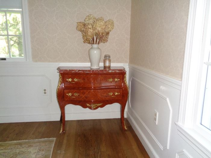 Custom Reproduction side table marble top