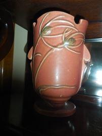 Roseville Teasel Vase
