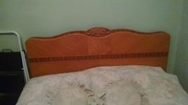 WATERFALL / ART DECO  FULL BED ..HEADBOARD / FOOTBOARD SET