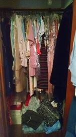 JAMMED -PACKED VINTAGE CLOTHING