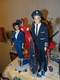 Barbie and Ken American Airline Pilot and Stewardess