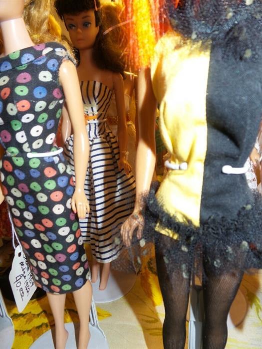 Barbie Apple Print Sheath Dress Detail