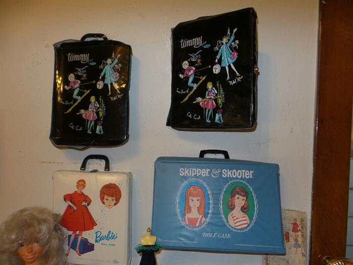 Barbie ~ Tammy ~ Skipper and Skooter Doll Cases