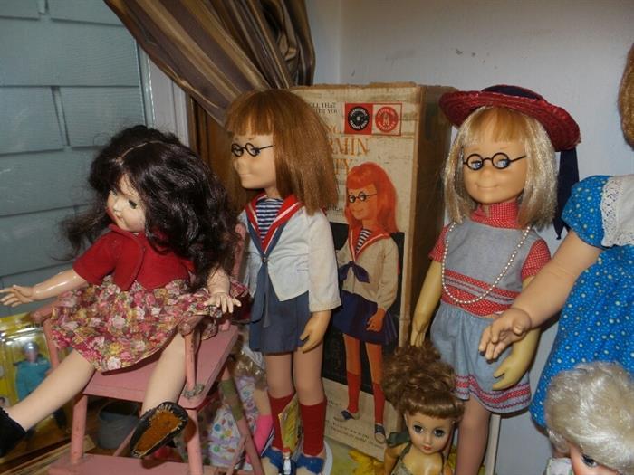 Talking Charmin Chatty Cathy Dolls ( One With Original Box)
