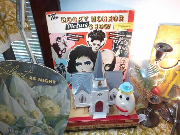 Plasticville Church With Box ~ The Rocky Horror Picture Show Album