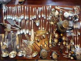 Many large, desirable serving pieces.