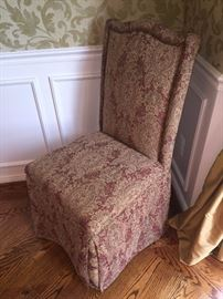 TRADITIONAL FORMAL CHAIRS-2 AVAILABLE