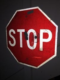REAL STOP SIGN!!!!