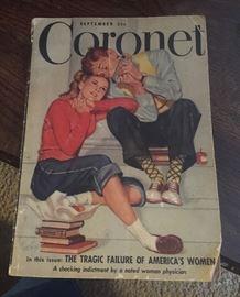 Vintage magazine