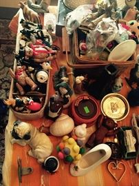 Misc. Little Trinkets and Oraments, Lots of Dogs