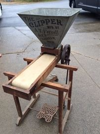 The Clipper Seed Washer