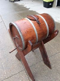 Barrel Butter Churn