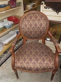 PAIR OF ETHAN ALLEN CHAIRS
