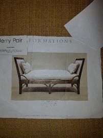 COPY OF PAPERWORK ON BENCH