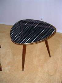 Cool mid century glass top table