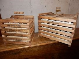 Wood Egg Crates