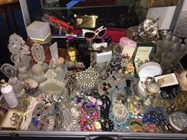 Jewelry, Perfume Bottles and more