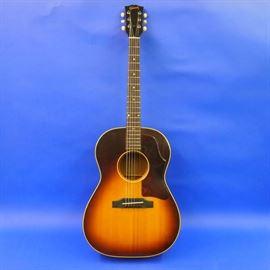 Gibson LG-1 Sunburst Serial # 195318 w/ Original Faux Gator Case