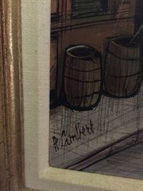 Paul Lambert Mid Century Painting