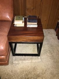 Crate and Barrel End Table