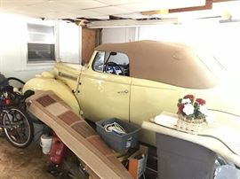 1939 PACKARD 6 CONVERTIBLE         PLEASE FIND RECENT PICTURES