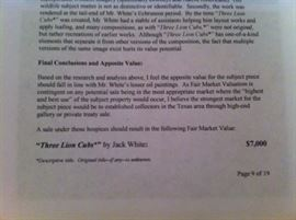 Appraisal of The Lion Clubs by Jack White