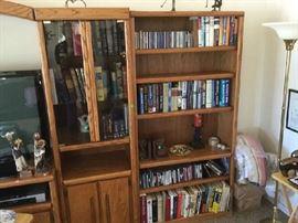 MORE SHELVES & BOOKS