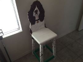 DOGGY CHAIR (one of a kind)